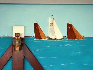 Wandschildering De Kuilart Koudum