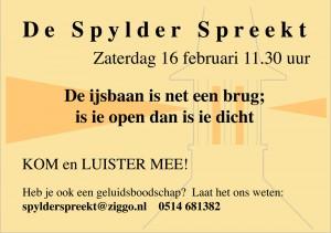 spylderspreekt16-02-'13
