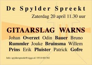 spylderspreekt20-04-'13