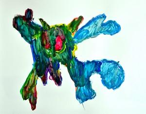 kindercursus tekenen en schilderen Warns