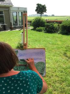 Workshops buiten tekenen